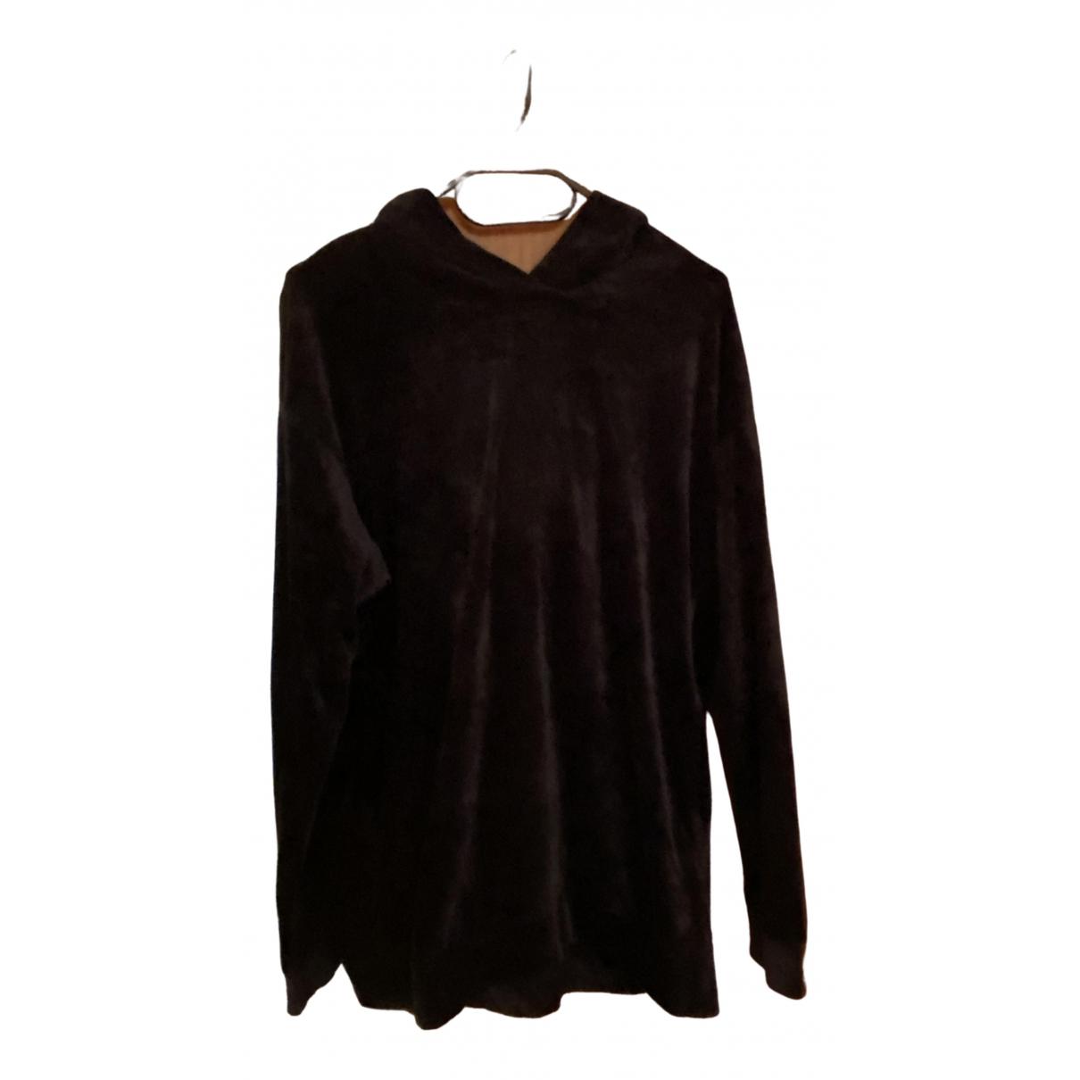 Majestic Filatures - Top   pour femme en coton - noir