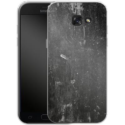 Samsung Galaxy A5 (2017) Silikon Handyhuelle - Grundge von caseable Designs