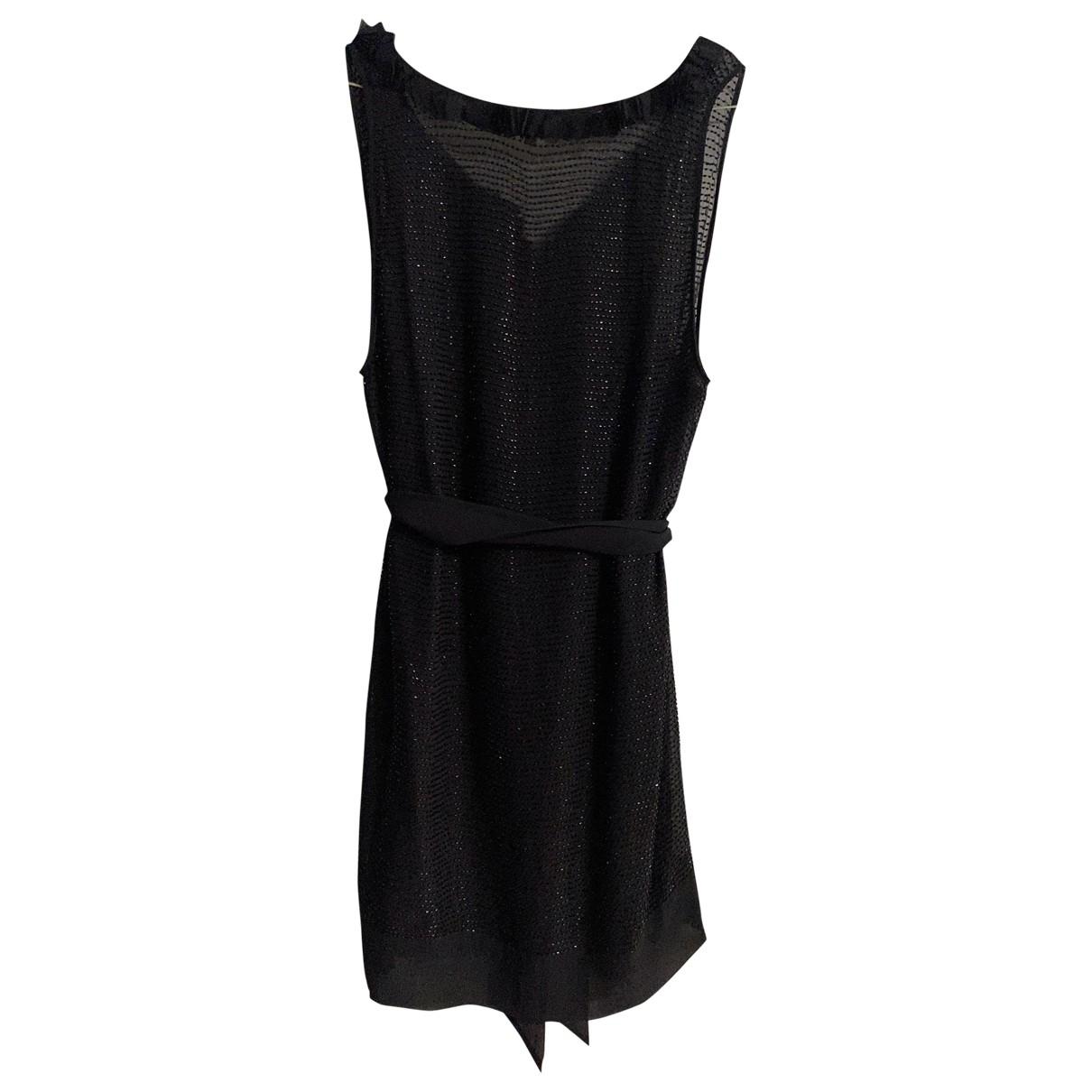 Bcbg Max Azria \N Black Silk dress for Women 36 FR
