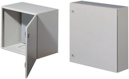 Rittal AE, Steel Wall Box, IP66, 210mm x 600 mm x 600 mm, Grey