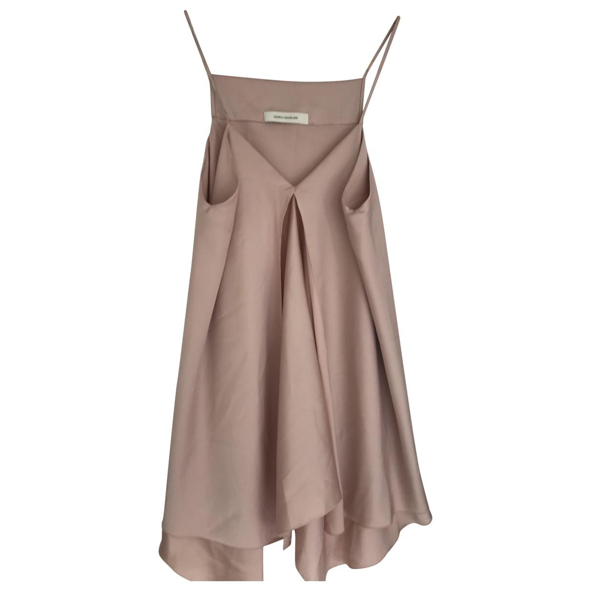 Cedric Charlier - Robe   pour femme - rose