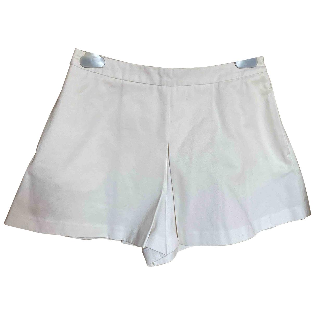 Moschino Love \N Shorts in  Weiss Baumwolle