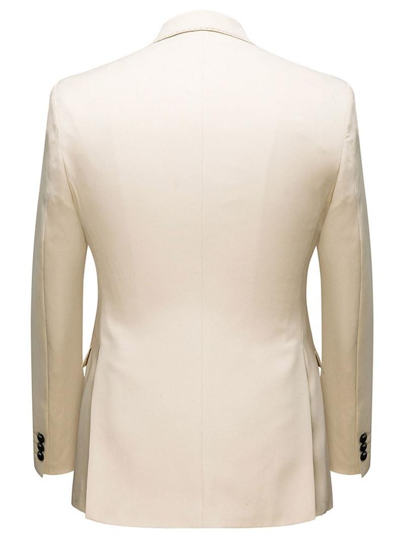 Ericdress Formal Single-Breasted Plain Men's Dress Suit