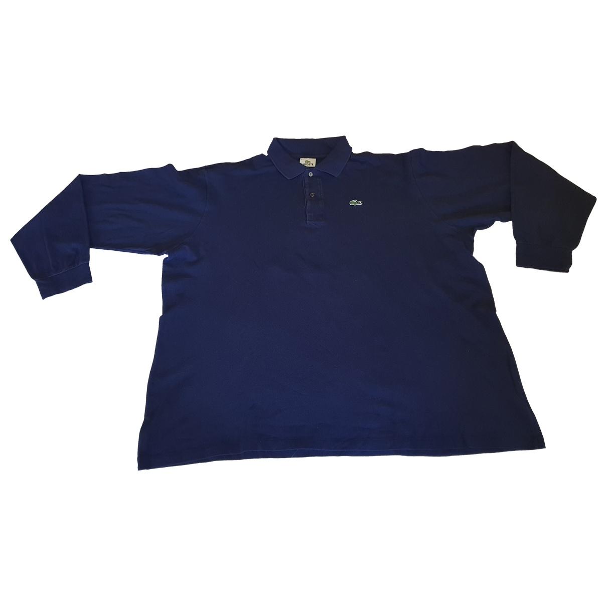 Lacoste \N Navy Cotton Polo shirts for Men XXXL International