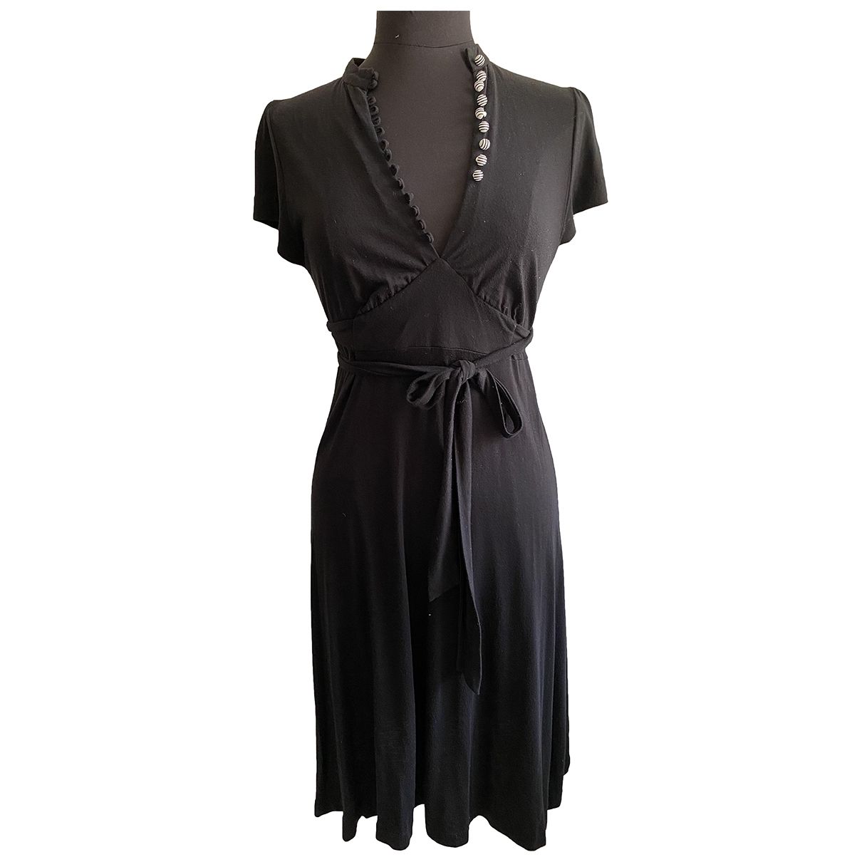 By Malene Birger \N Kleid in  Schwarz Baumwolle