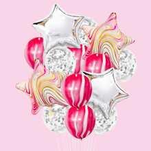 16pcs Decorative Balloon Set