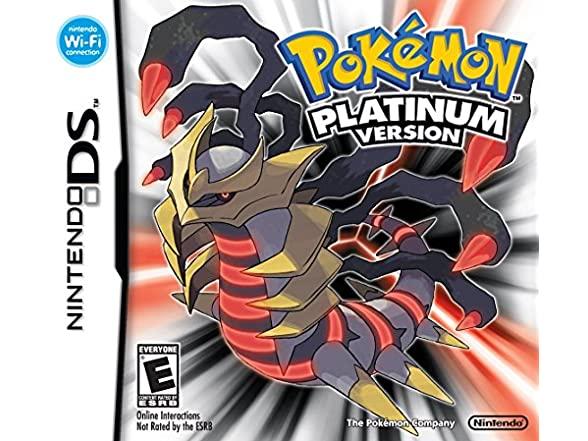 Nintendo Pokemon Platinum