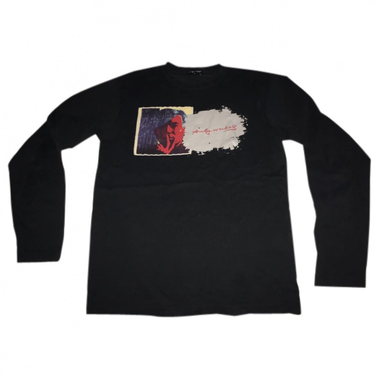Andy Warhol - Tee shirts   pour homme en coton - noir