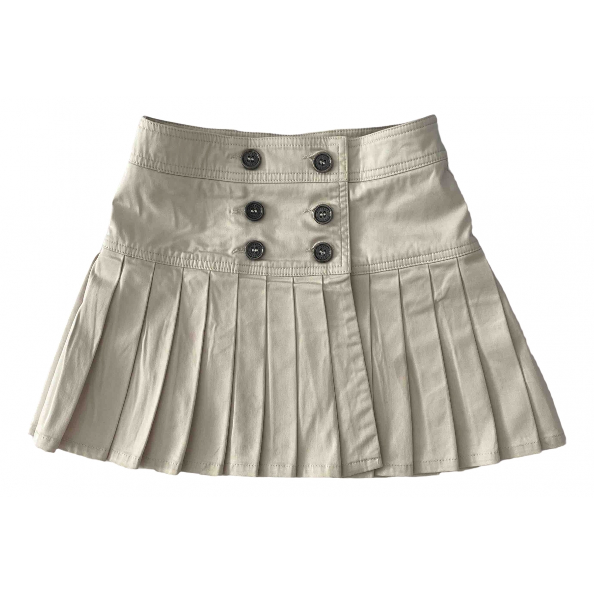 Burberry \N Beige Cotton skirt for Kids 4 years - up to 102cm FR