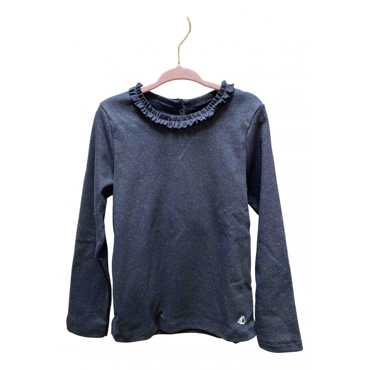 Petit Bateau N Blue Cotton  top for Kids 6 years - up to 114cm FR