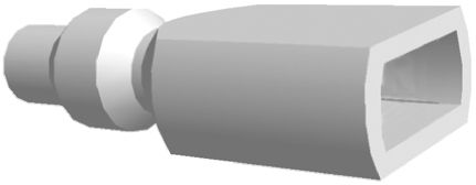 TE Connectivity FASTON .250,Connector sleeve,natural (100)