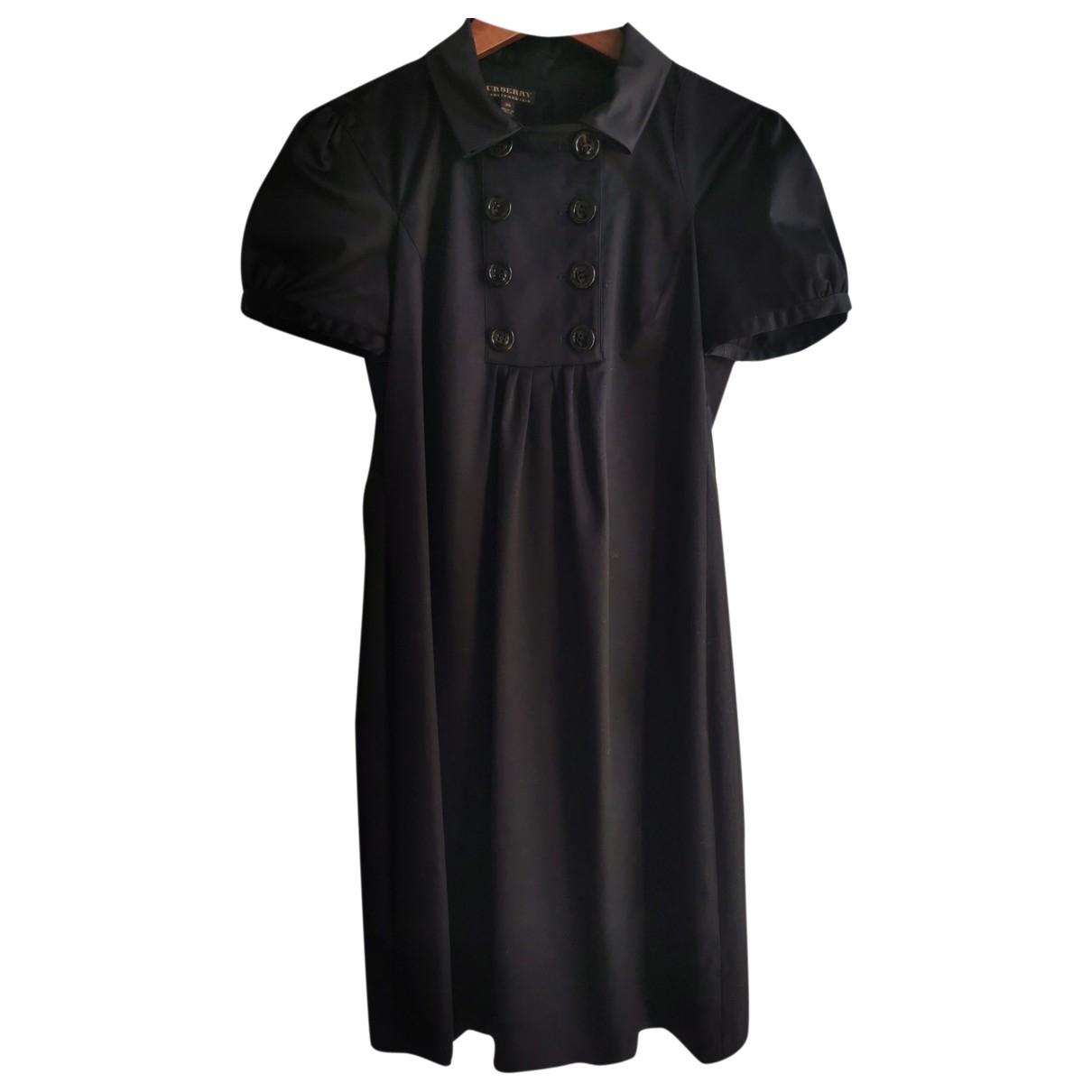 Burberry - Robe   pour femme en coton - noir