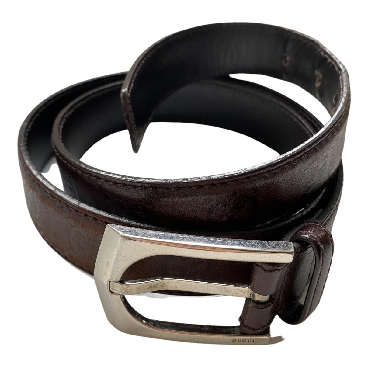 Cinturon de Cuero Gucci