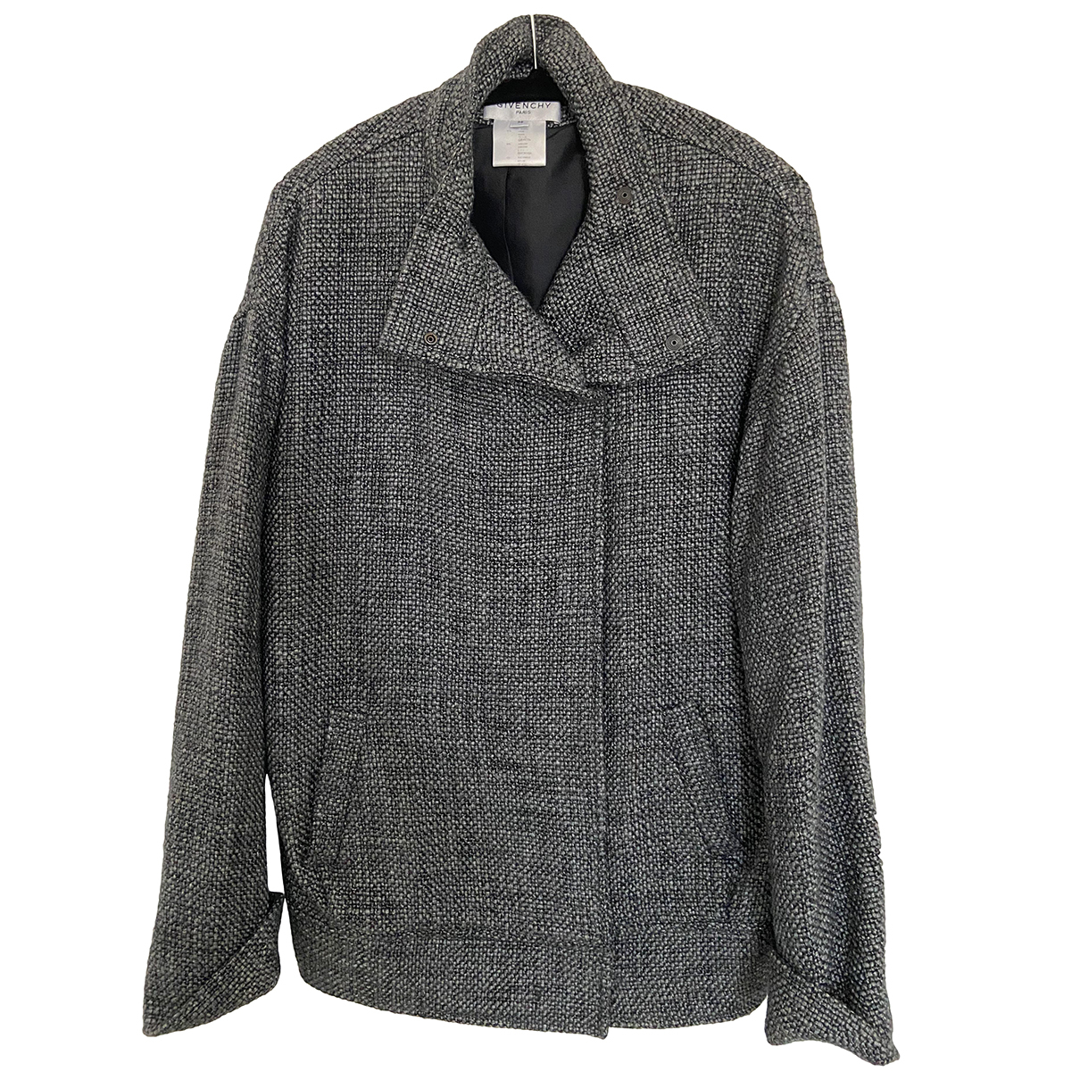 Givenchy N Grey Linen jacket for Women 36 FR