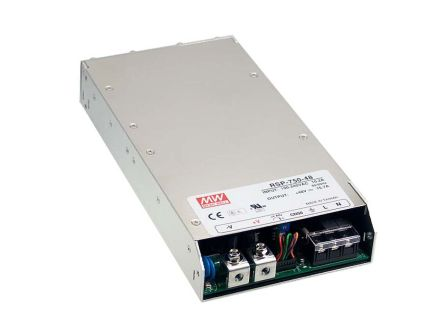 Mean Well , 500W Embedded Switch Mode Power Supply SMPS, 5V dc, Enclosed