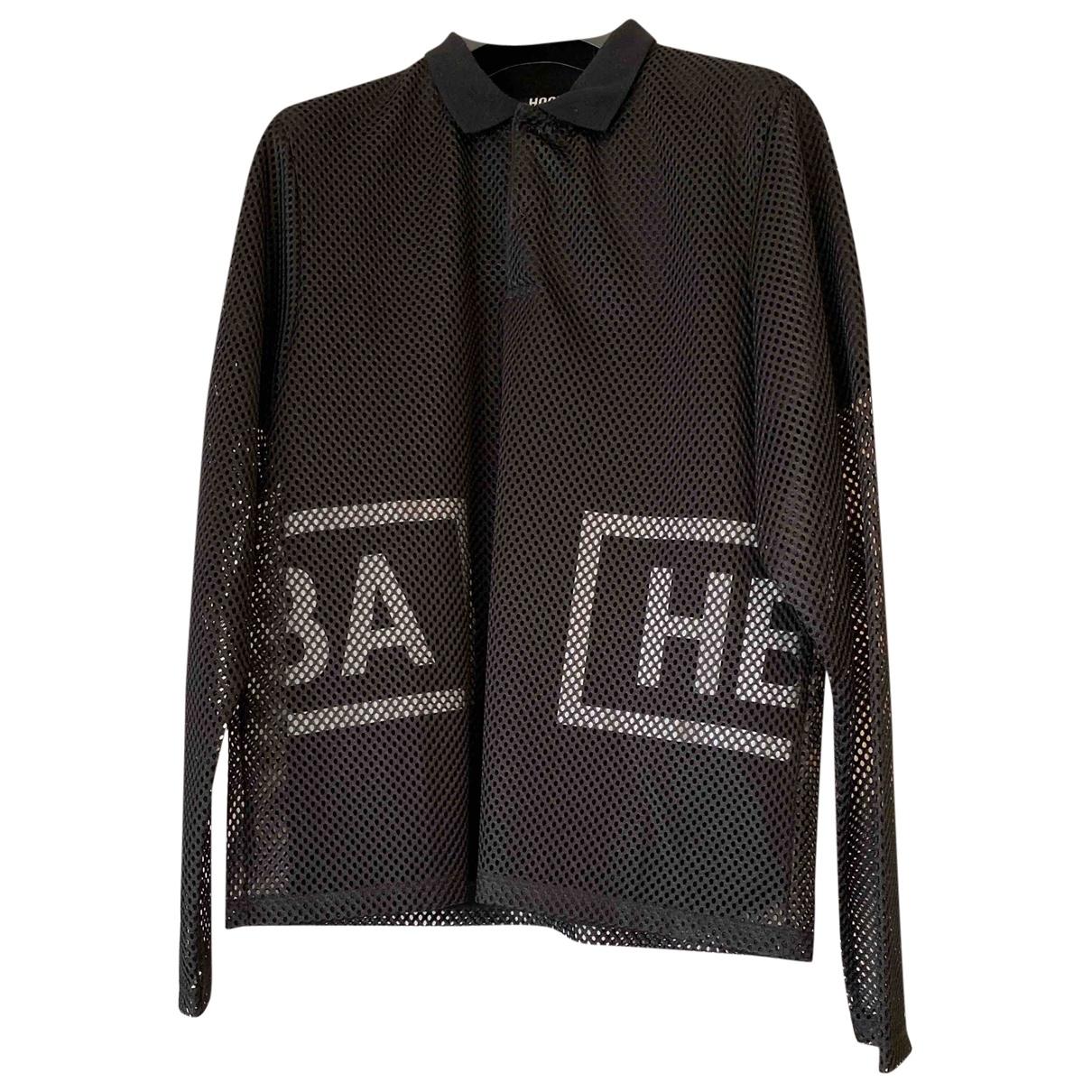 Hba \N T-Shirts in  Schwarz Baumwolle