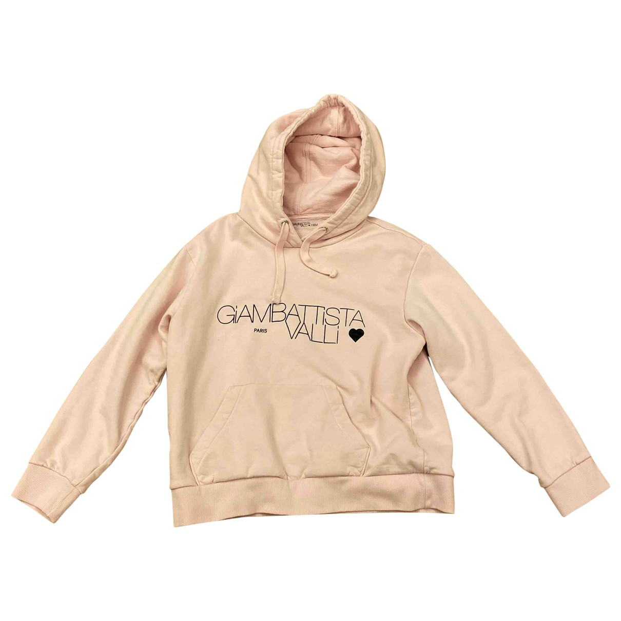 Giambattista Valli X H&m - Top   pour femme en coton - rose