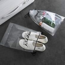 5pcs Clear Shoe Storage Bag