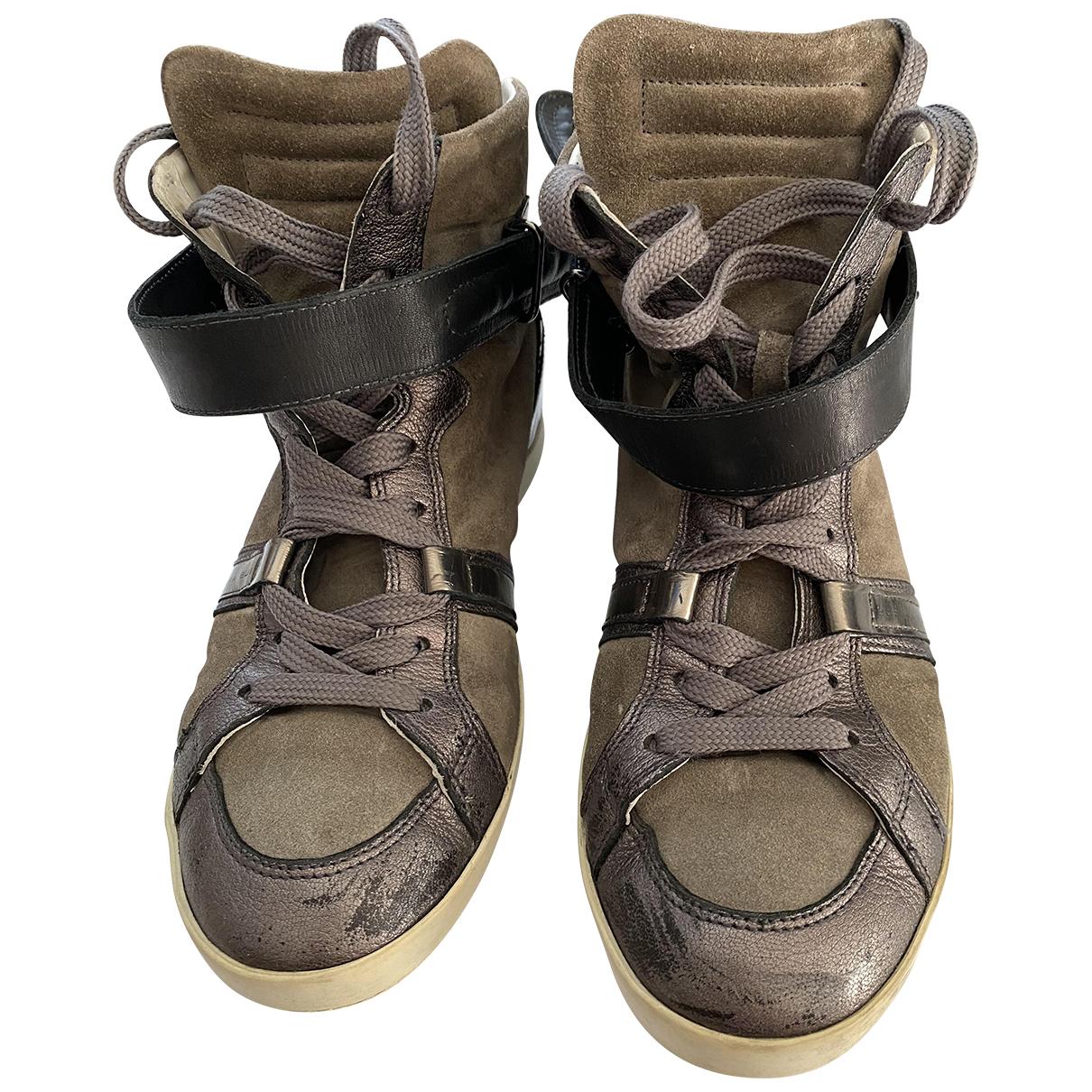 Barbara Bui \N Sneakers in  Silber Leder