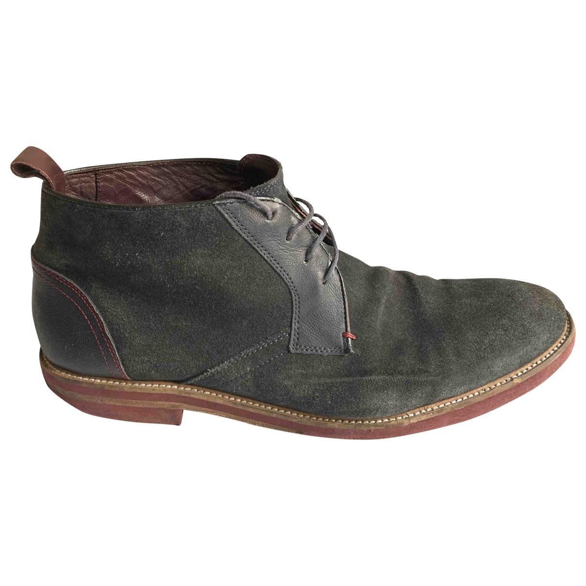 Ted Baker N Blue Suede Boots for Men 45 EU