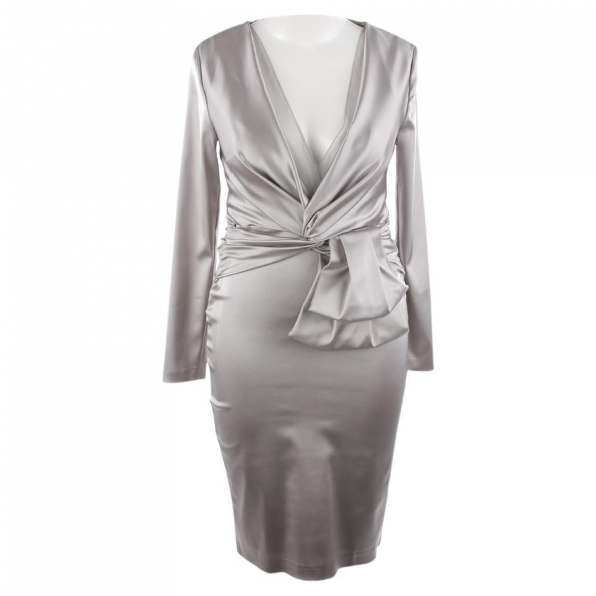 Talbot Runhof - Robe   pour femme - gris