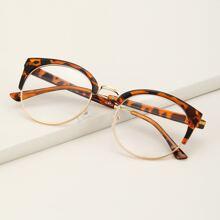 Brille mit Acryl & metallischem Rahmen