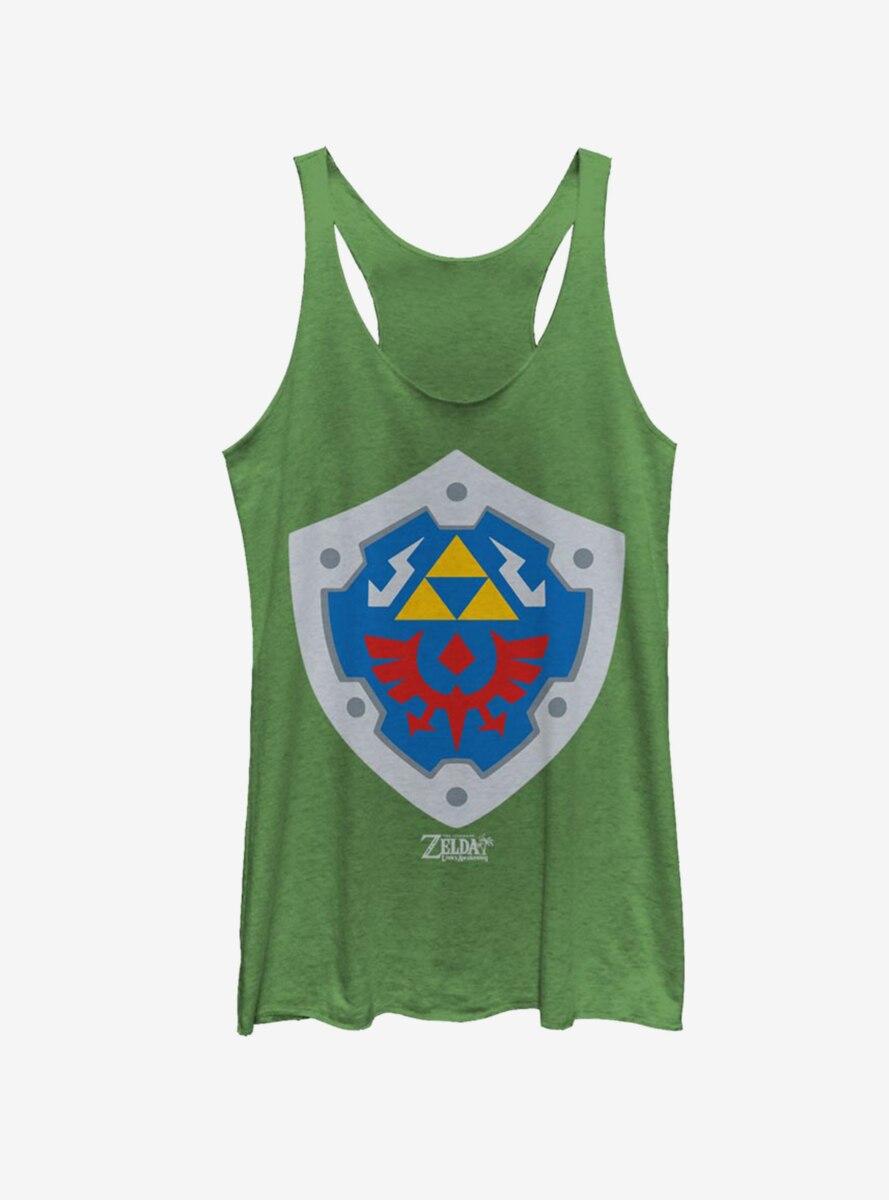 Nintendo The Legend of Zelda: Link's Awakening Hylian Shield Womens Tank Top