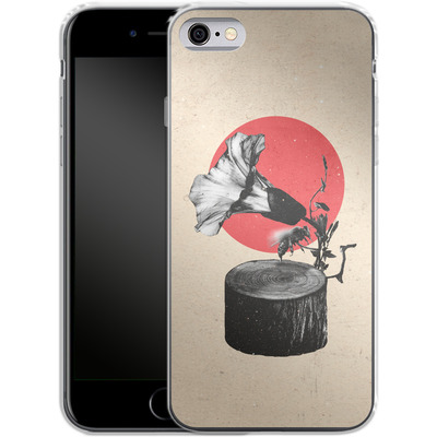 Apple iPhone 6 Silikon Handyhuelle - Gramophone von Ali Gulec