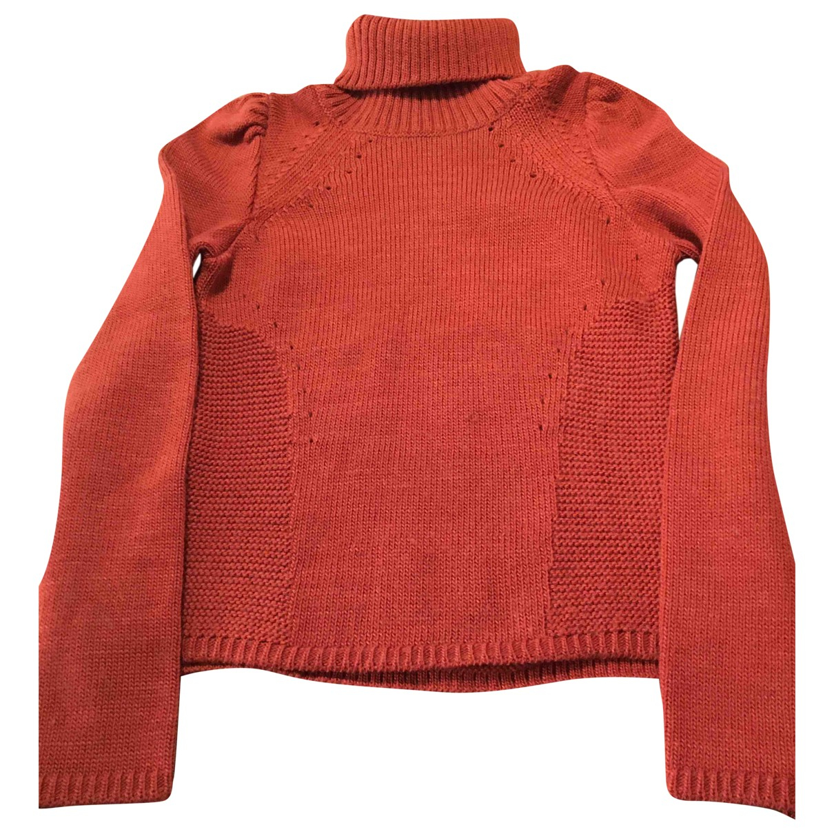 Isabel Marant N Orange Wool Knitwear for Women 36 FR