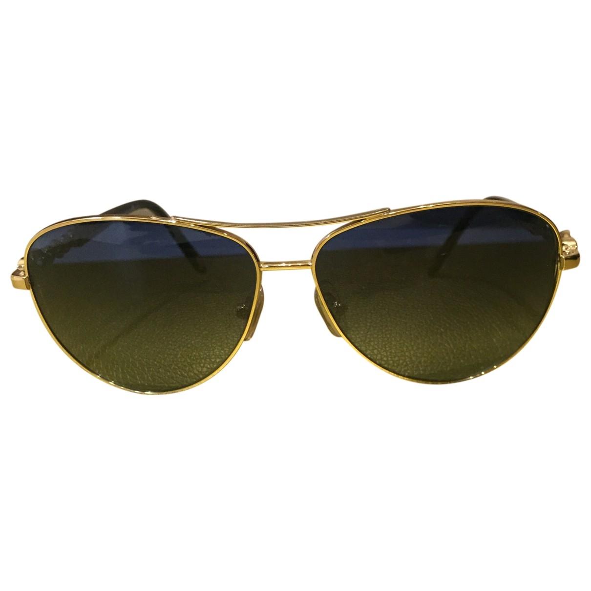 Tiffany & Co \N Sonnenbrillen in  Blau Metall