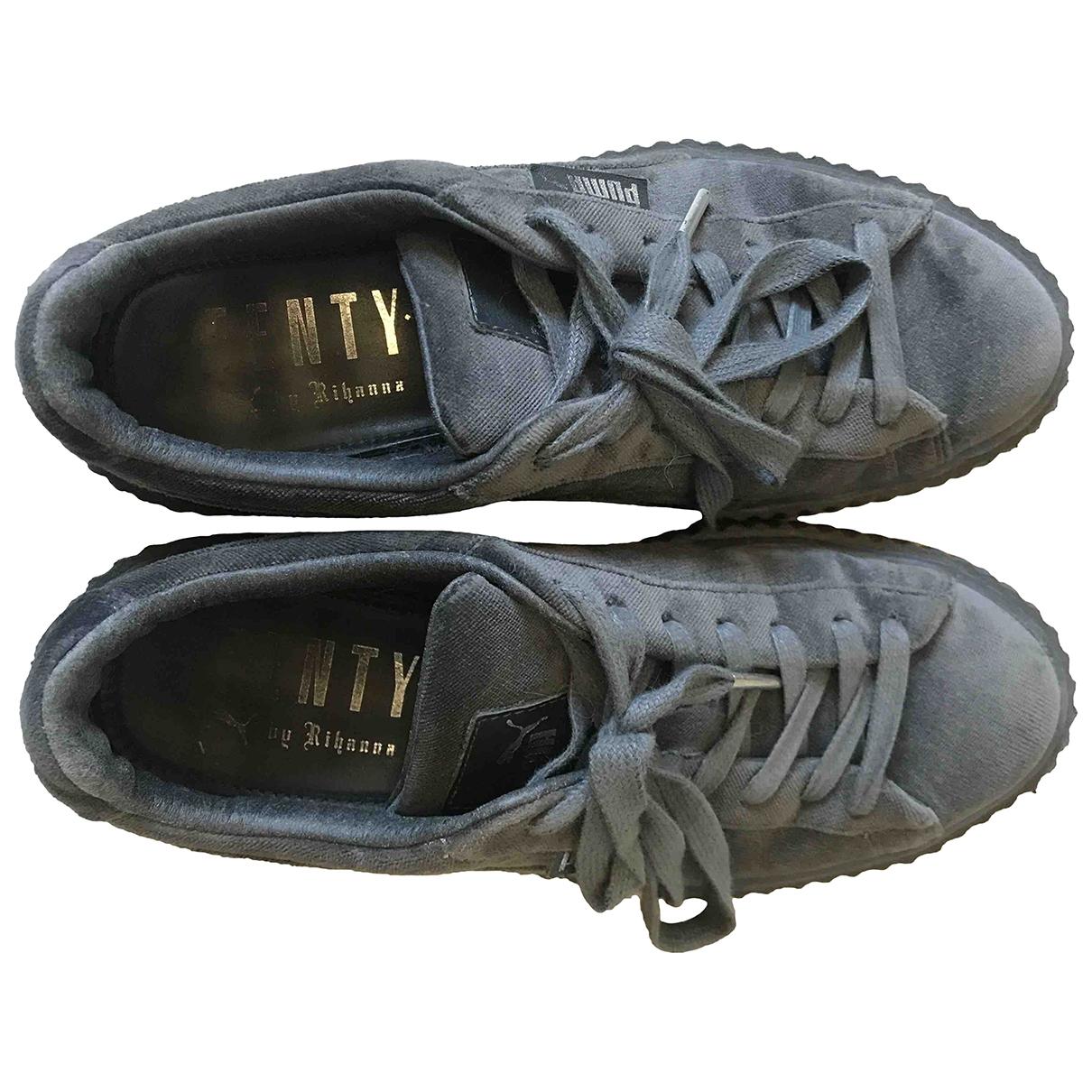 Fenty X Puma \N Grey Velvet Trainers for Women 38 IT