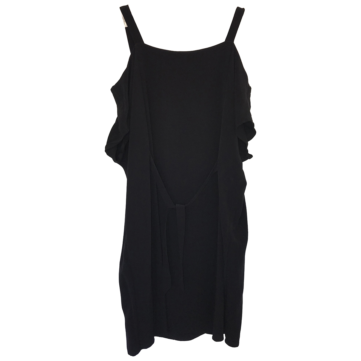 All Saints \N Black Cotton dress for Women 16 UK