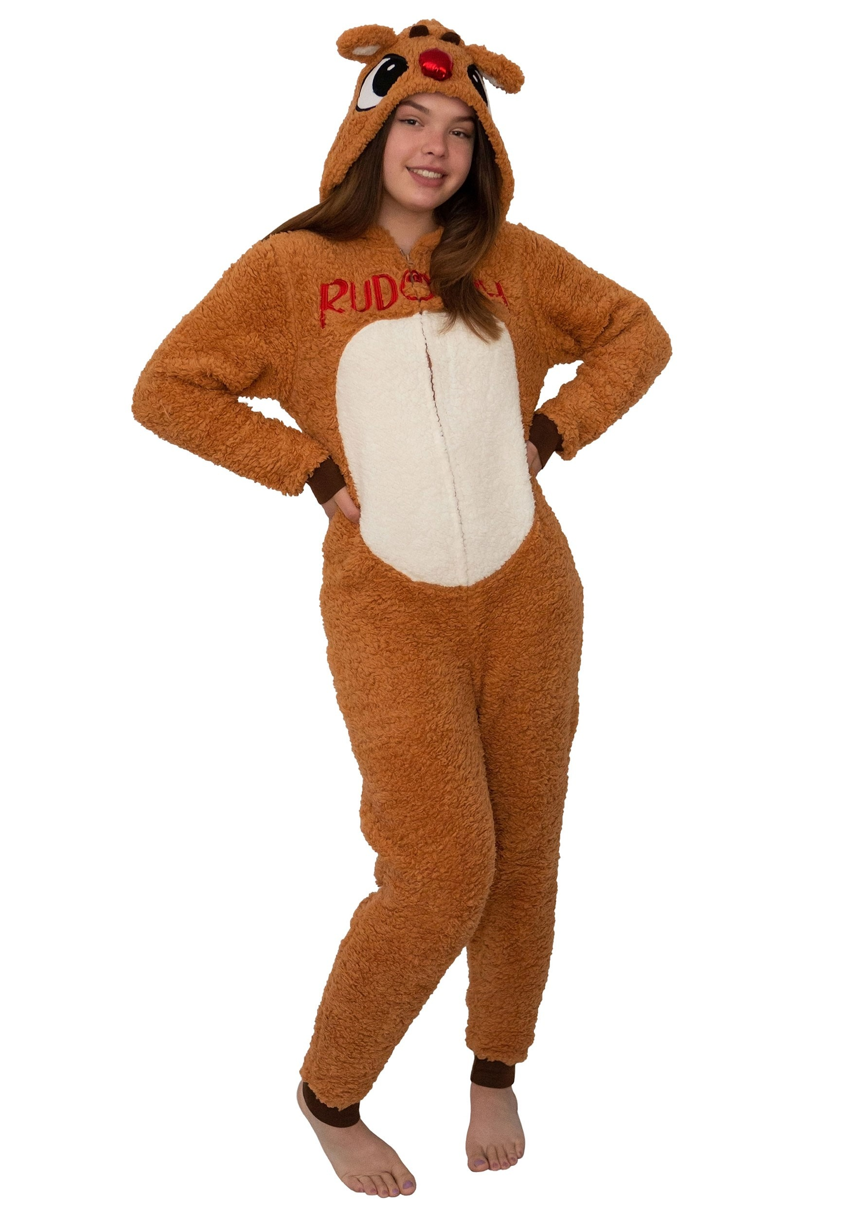 Rudolph the Reindeer Women's Rudolph Union Suit Costume