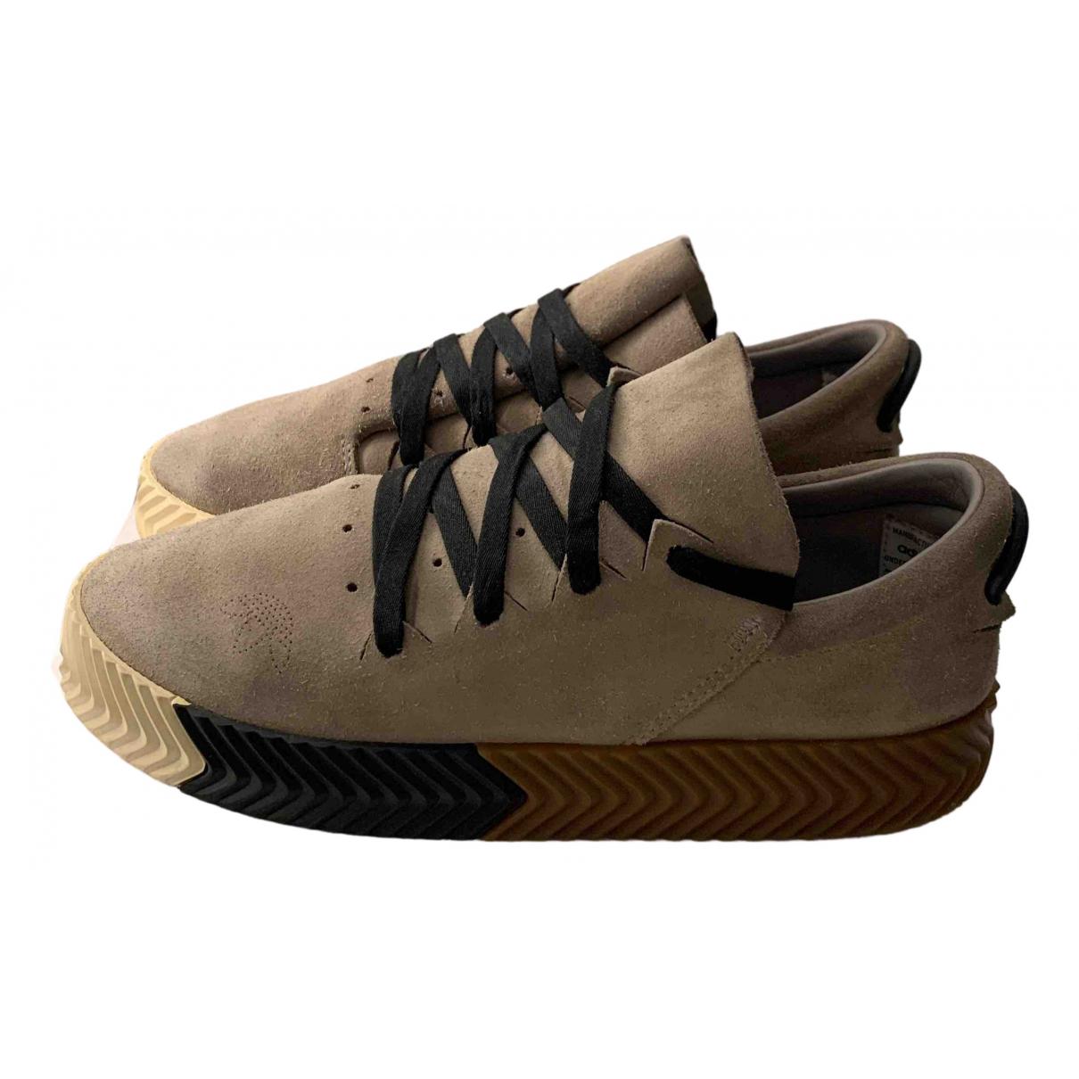 Adidas Originals X Alexander Wang \N Sneakers in  Grau Veloursleder