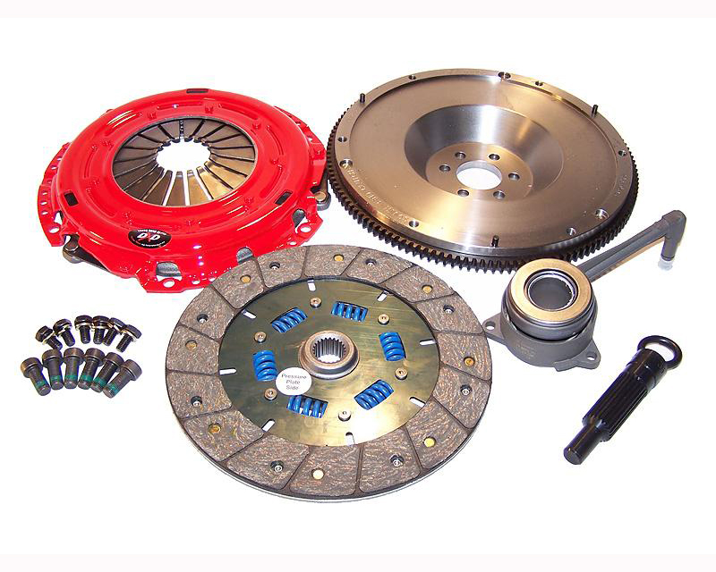 South Bend K70316F-SS-O Clutch Kit Stage 3 Daily with Flywheel Volkswagen Golf IV 4 Cyl 1.9T TDI 00-06