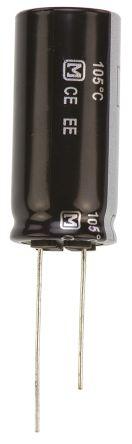 Panasonic 100μF Electrolytic Capacitor 400V dc, Through Hole - EEUEE2G101