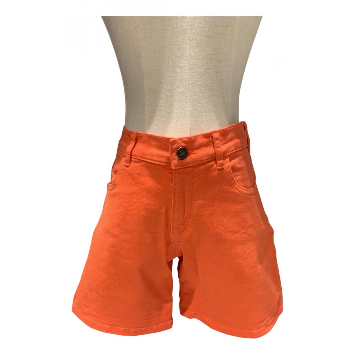 See By Chloe \N Shorts in  Orange Denim - Jeans