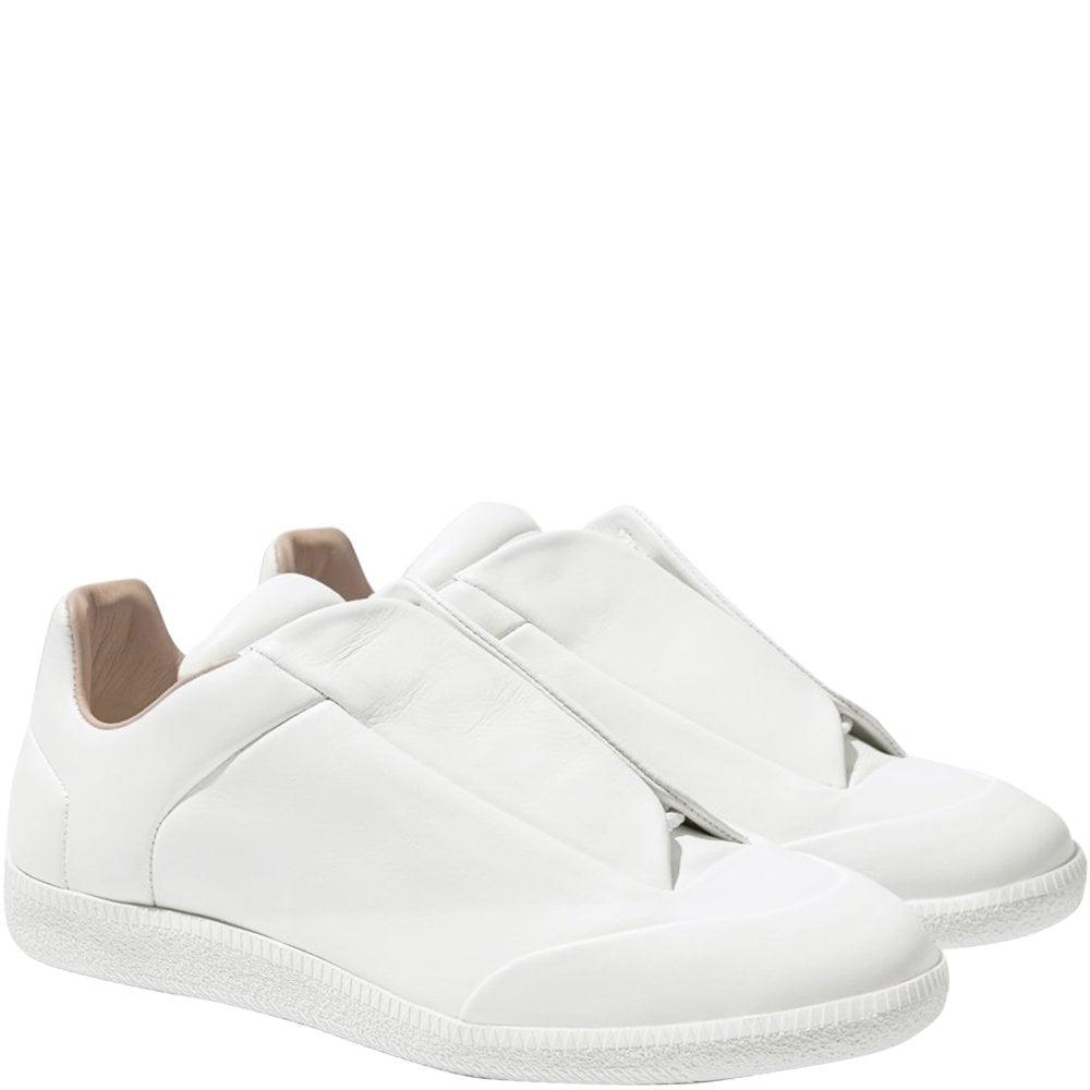 Maison Margiela Future Low Top Trainers Colour: WHITE, Size: 6