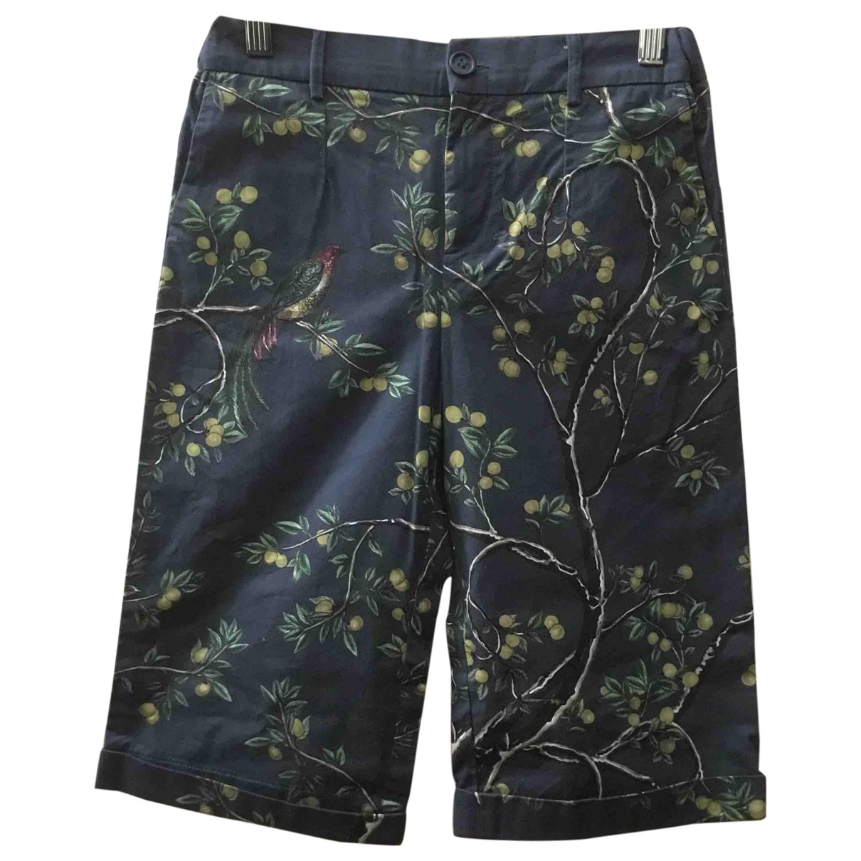 Dolce & Gabbana \N Anthracite Cotton Shorts for Kids 12 years - XS FR