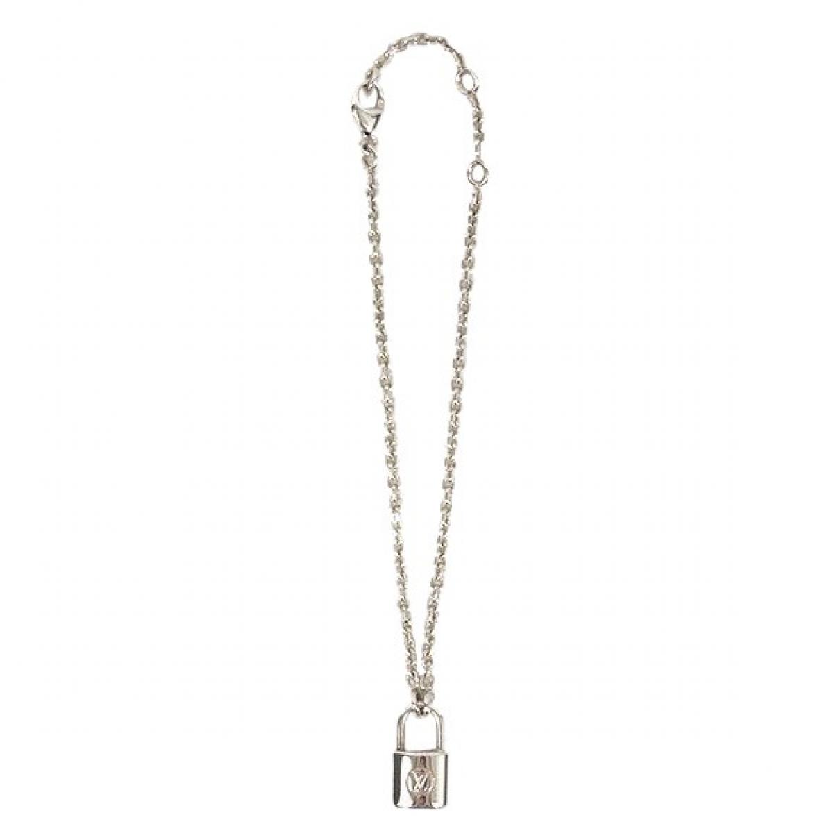 Louis Vuitton - Collier   pour femme en argent - argente