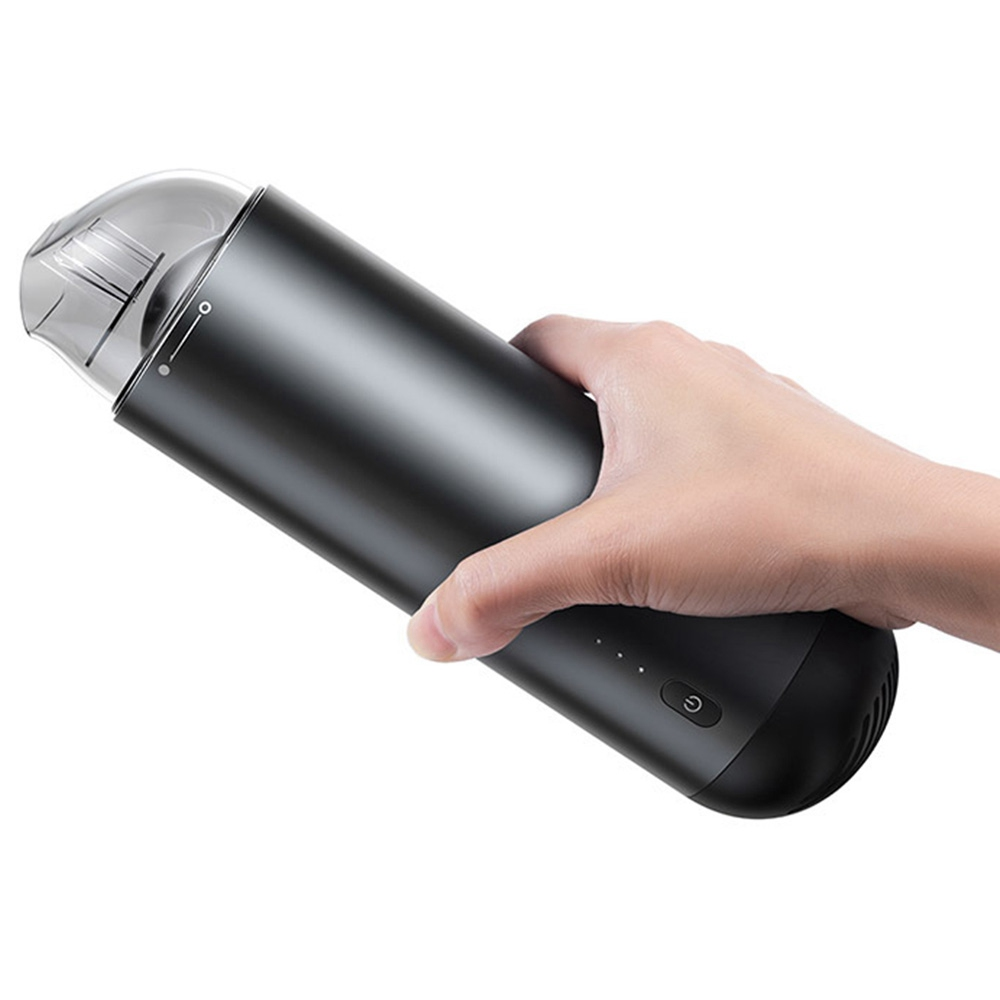 Baseus Portable Wireless Handheld Vacuum Cleaner 4000Pa Suction 2000mAh Battery For Car Home Computer Cleaning - Black