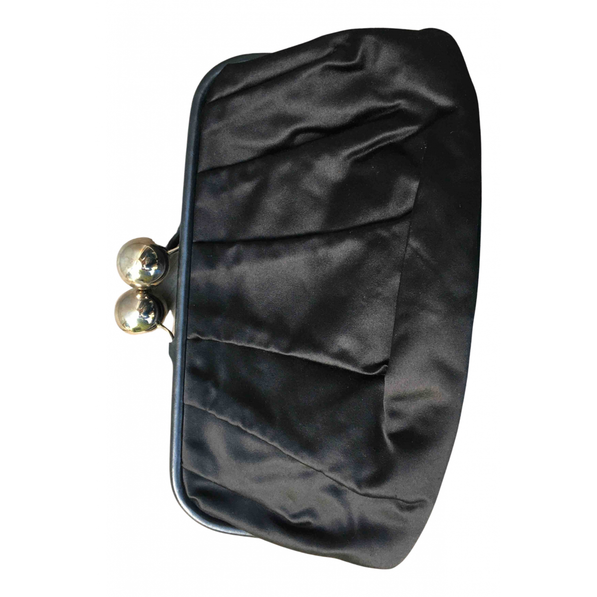 Tara Jarmon N Black Silk Clutch bag for Women N