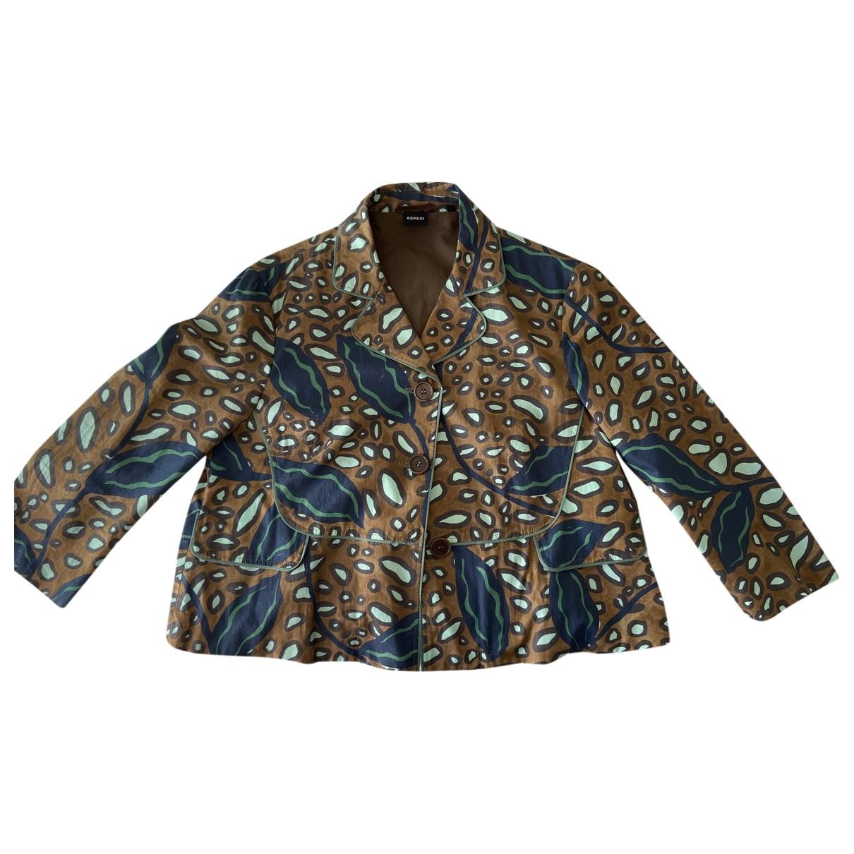 Aspesi \N Multicolour Cotton jacket for Women 44 IT