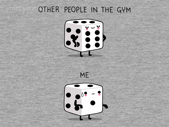 Me In The Gym T Shirt