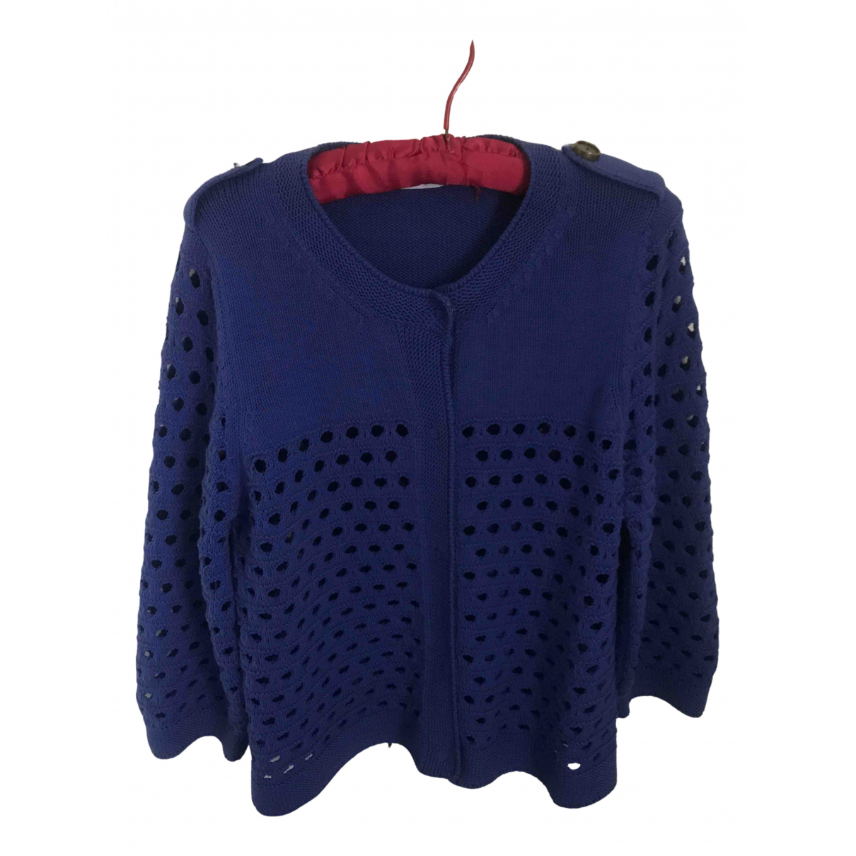 See By Chloé N Blue Cotton Knitwear for Women 14 UK