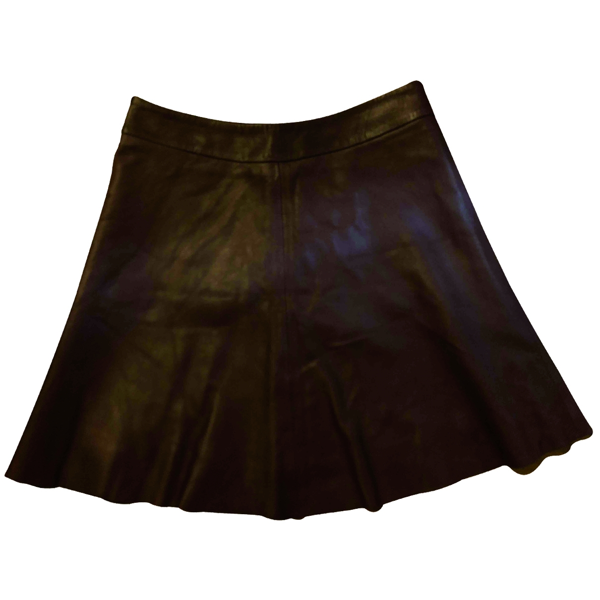 Mini falda de Cuero Veda