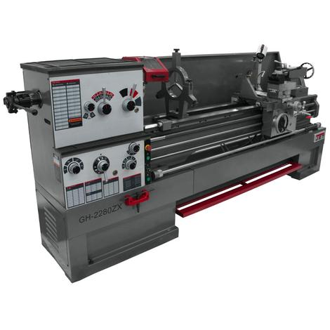 Jet Gear Head 22 x 80 ZX Lathe with Collet Closer