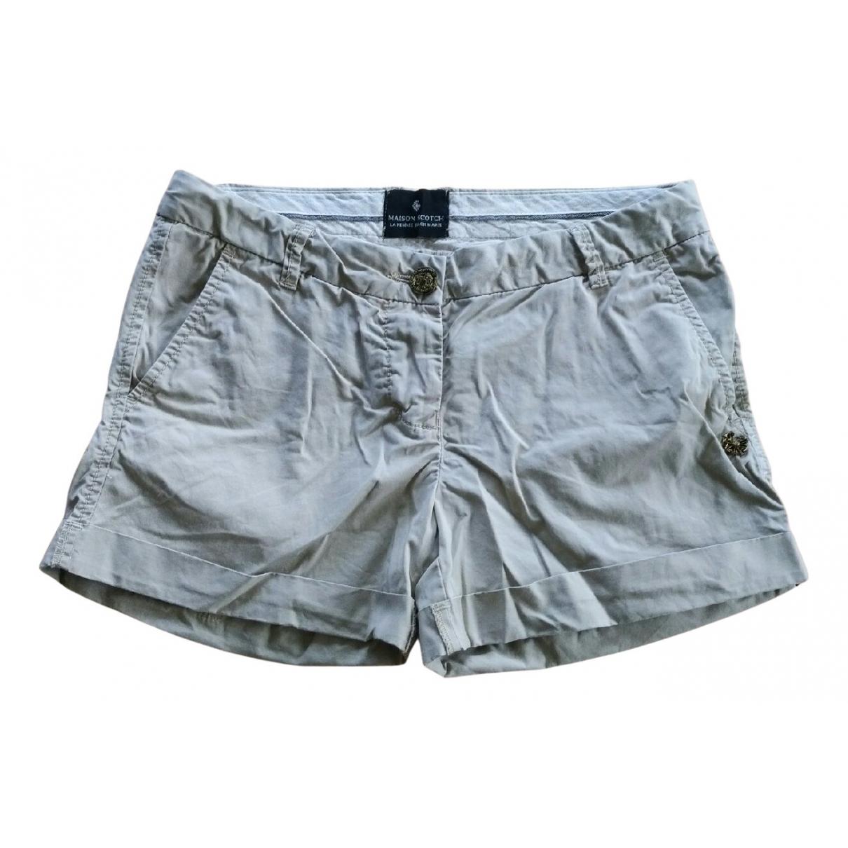 Maison Scotch \N Shorts in  Beige Baumwolle