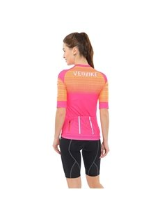 Stretchy Close-fitting Zipper Design Cycling Clothing