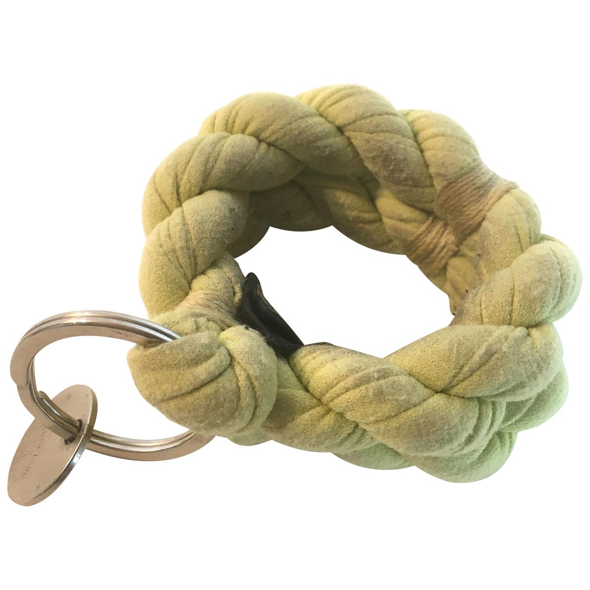 Helmut Lang - Bracelet   pour femme en toile - jaune